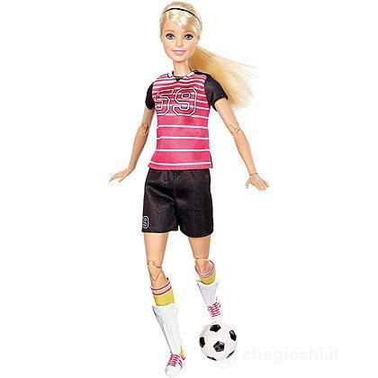 Barbie Snodata I Can Be Calciatrice (DVF69)
