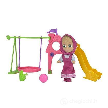 Masha con parco giochi
