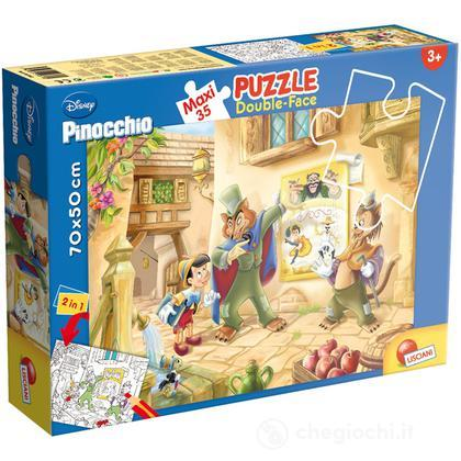 Puzzle Double Face Supermaxi 35 Pinocchio