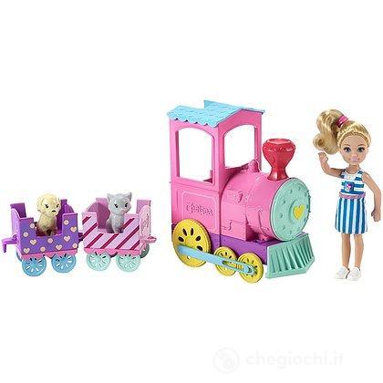 Barbie Ciuf Club Chelsea Trenino (FRL86)