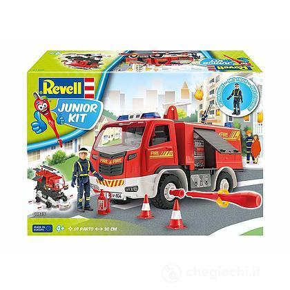 Camion pompieri Junior Kit Fire Truck con personaggio 1/20 (RV00819)