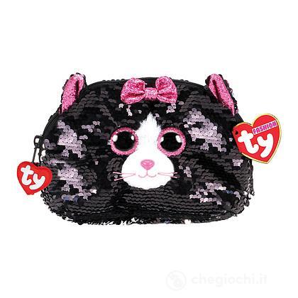 Kiki gatto Pochette glitter