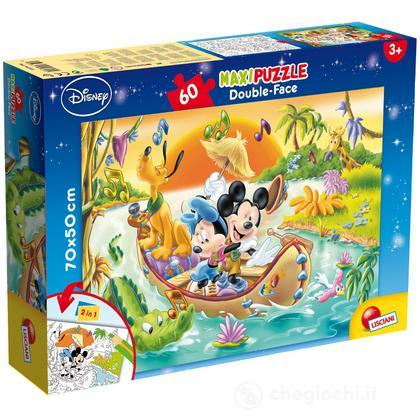 Puzzle Double Face Supermaxi 60 Mickey