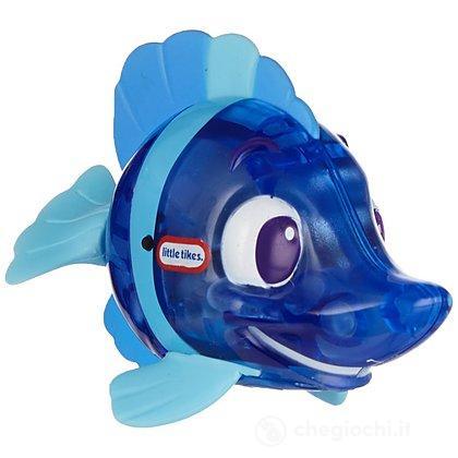 Pesce scintillante spruzza acqua blu (9038008)