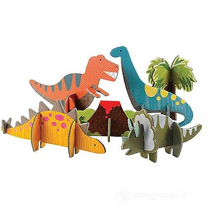 Animali In Cartone 3D - Dinosauri (Pe36611)