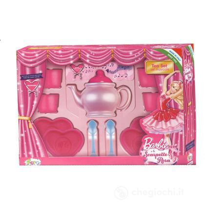 Tea Set Pink Shoes Musicale (6821)