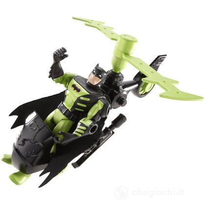 Batman Total Armor con veicolo  - Elicottero (V8418)