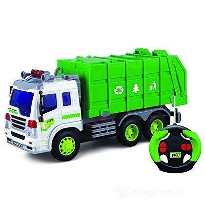 Camion Rifiuti con luci Radiocomandato (9822)