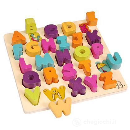 Alphabetical Lettere ad Incastro per Imparare l'Alfabeto