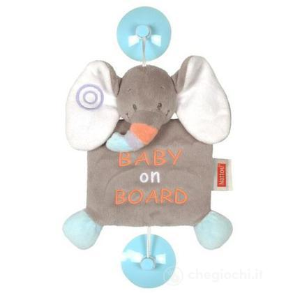 Baby on board elefante (578257)