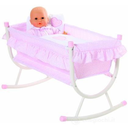 Letto a dondolo accessori bambole corolle giocattoli - Letto a dondolo ...