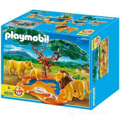 Leone con scimmia (4830)