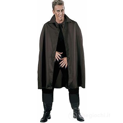 Mantello nero con collo alto115 cm (3583)