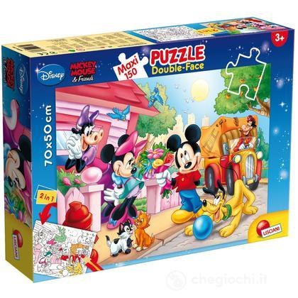Puzzle Double Face Supermaxi 150 Mickey