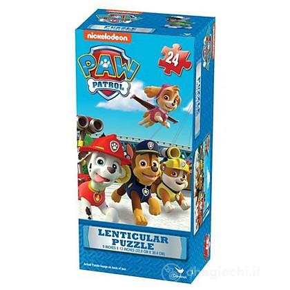 Paw Patrol lenticular puzzle tower box