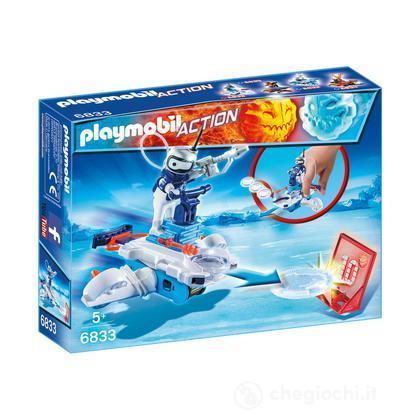 Ice-Robot con space-jet lanciadischi 6833
