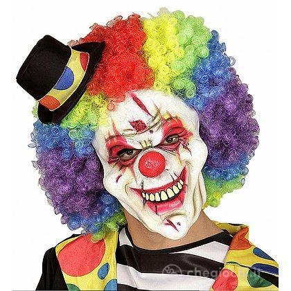 Maschera Mezzo Viso Killer Clown Taglia Unica