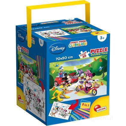 Puzzle Double face + Color Fustino Maxi 48 Mickey (48342)