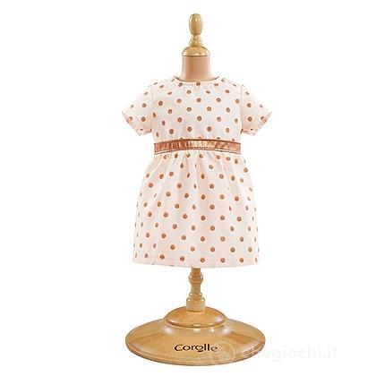 Vestito oro e rosa
