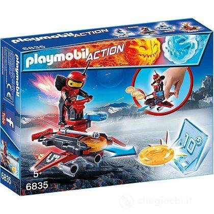 Fire-Robot con space-jet lanciadischi 6835