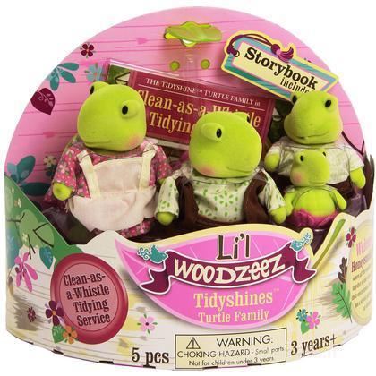Li'L Woodzeez famiglia Tartaruga (6005M)