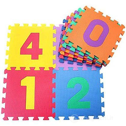 Numeri componibile (10 mattonelle) (705000021)