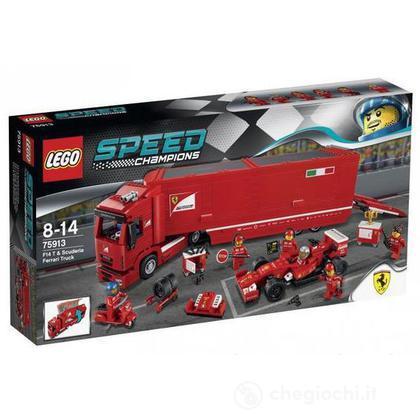 Camion trasportatore F14 T e Scuderia Ferrari - Lego Speed Champions (75913)