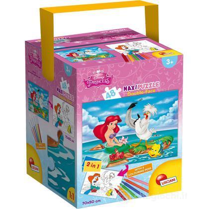 Puzzle + Color Fustino Maxi 48 Sirenetta (48397)