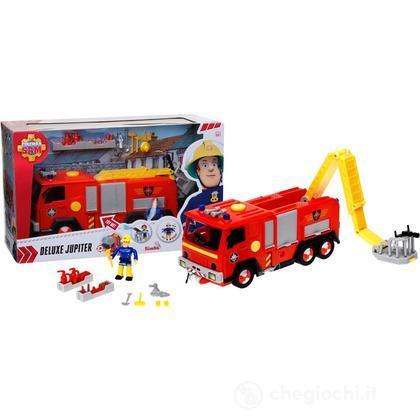 Sam il Pompiere veicolo Jupiter luci suoni con personaggio (NCR18254)