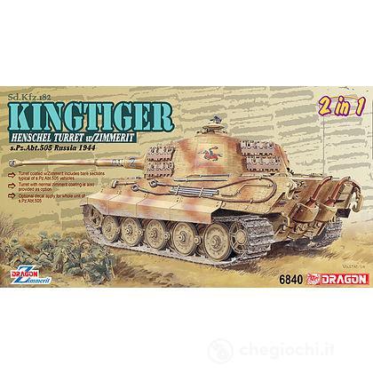 Carro Armato KINGTIGER HENSCHEL 505 1/35 (DR6840)
