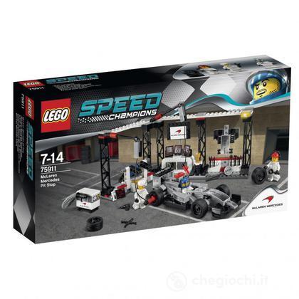 Pit stop McLaren Mercedes - Lego Speed Champions (75911)