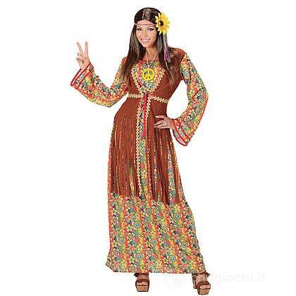 Costume Adulto donna hippie S