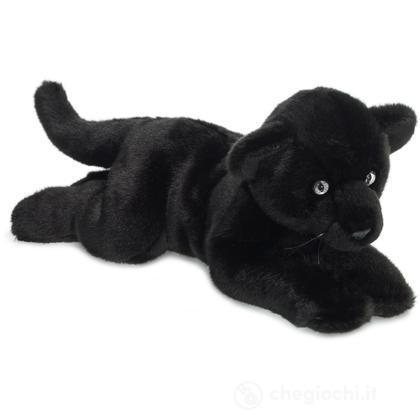 Pantera nera sdraiata
