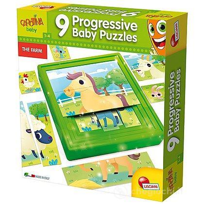 Carotina Progressive Puzzle Farm (58440)