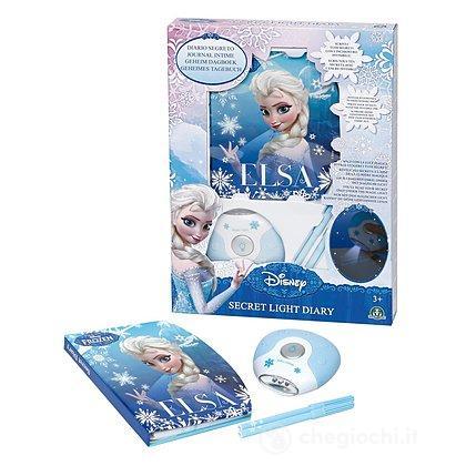 Frozen Diario Segreto con Luce UV