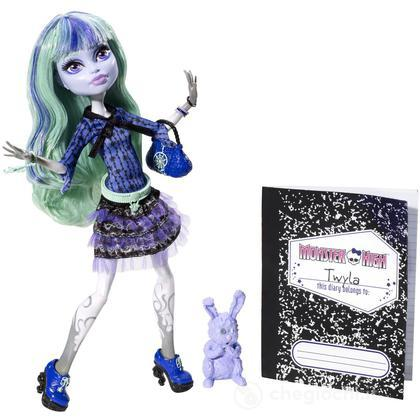 Twyla Boogie Girl - Monster High desideri mostruosi (BBJ95)