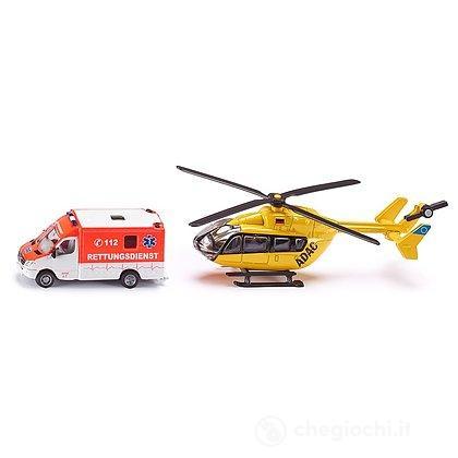 Ambulanza+Elicottero 1:87 (1850)