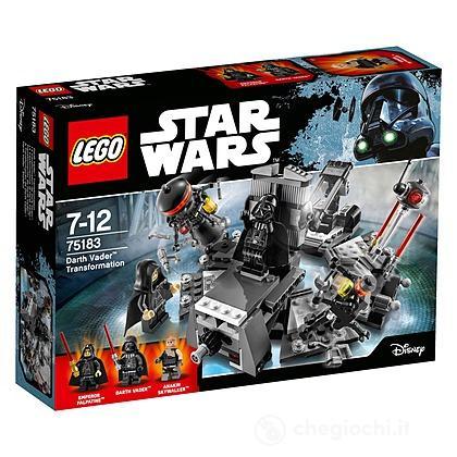 La trasformazione di Darth Vader - Lego Star Wars (75183)