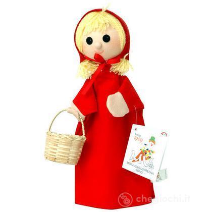 Burattino Cappuccetto Rosso