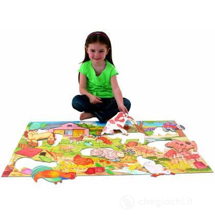 Grande puzzle pavimento: Fattoria