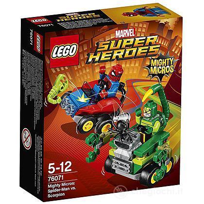 Mighty Micros: Spider-Man contro Scorpione - Lego Super Heroes (76071)