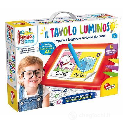Io Leggo A 3 Anni Con Tavolo Luminoso (68593)