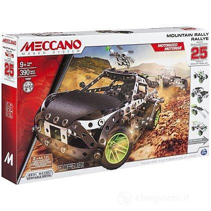 Veicolo Mountain Rally Multimodels Set 25 (91776)