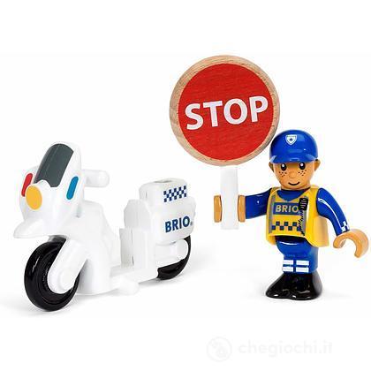 Brio poliziotto motociclista (33861)