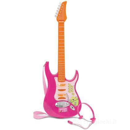 Chitarra Elettronica con luci e microfono (GR7371)