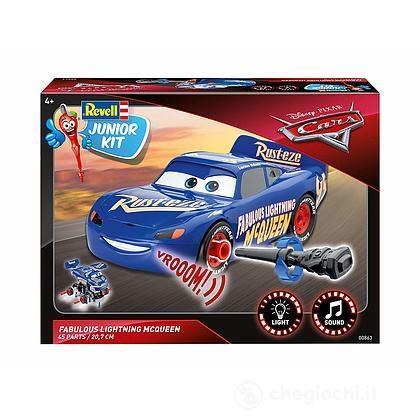 Cars 3 The Fabulous Saetta McQueen luci e suoni Junior Kit 1/20 (RV00863)