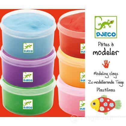 6 light clay boxes - Pasta da modellare