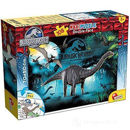 Jurassic Cretaceous Puzzle DF Supermaxi 108 Pezzi