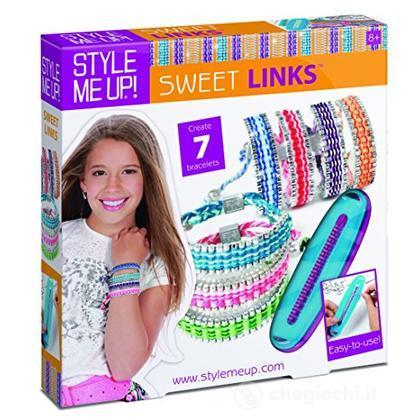 Style Me Up - Kit Crea Bracciali con Perline + Fili - Braccialetto Amicizia Faidate - Idea Regalo Bambina - SMU-869