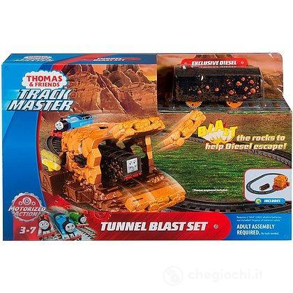 Il Trenino Thomas Trackmaster Esplosione Nella Miniera (FJK24)